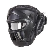 Fejvédő leszedhető maszkkal, fejtetető védelemmel