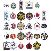 Ruhára varrható címer