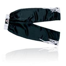 Kick-box nadrág, fekete-fehér