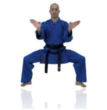 Karate ruha, kék
