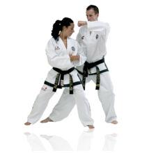 Régi logós ITF taekwon-do mester ruha