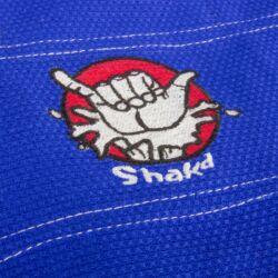 Brasil jiu-jitsu edzőruha, Shaka, kék