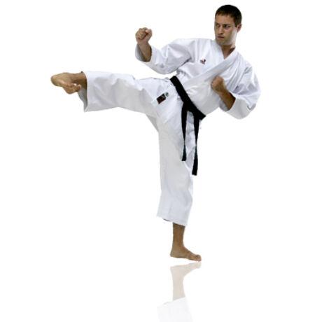Karate versenyruha, fehér