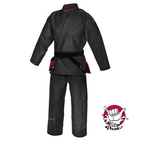 Brasil jiu-jitsu edzőruha, Shaka, fekete