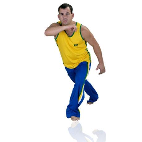 Capoeira nadrág, kék