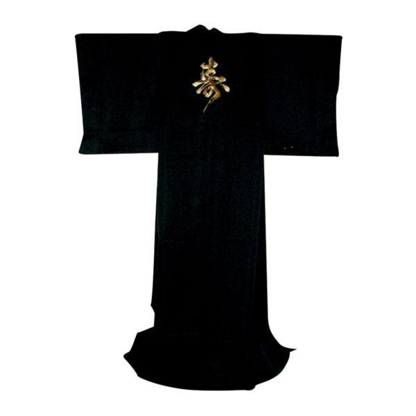 Japán kimonó Kotobuki, PE szatén