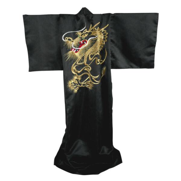 Japán kimonó Dragon, PE szatén