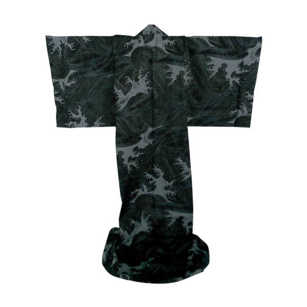 Japán kimonó Evevning wave, Pamut