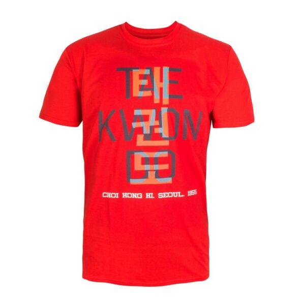 Póló, Taekwon-do felirattal
