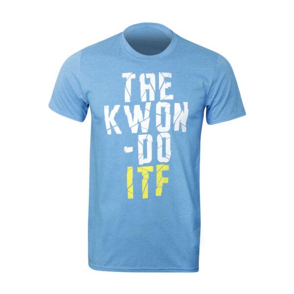 ITF Taekwon-do póló, törött