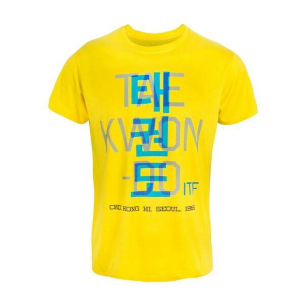 Póló, ITF Taekwon-do felirattal