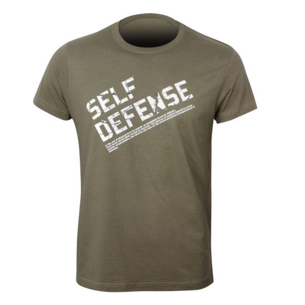 Önvédelmi póló, írás