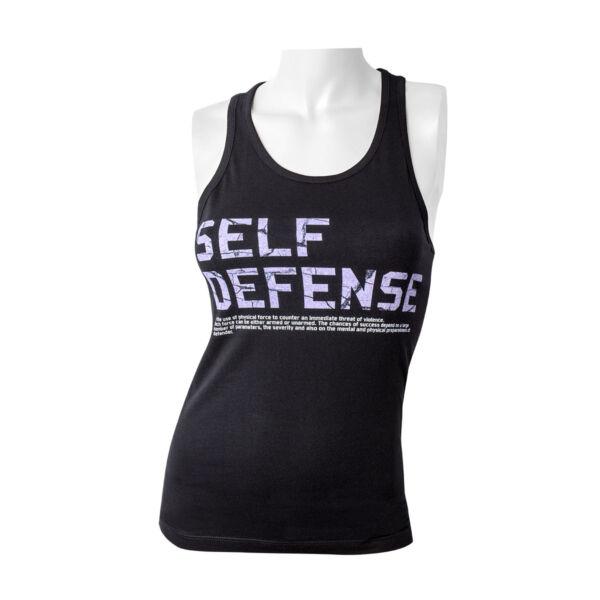 Önvédelmi póló, írás, női
