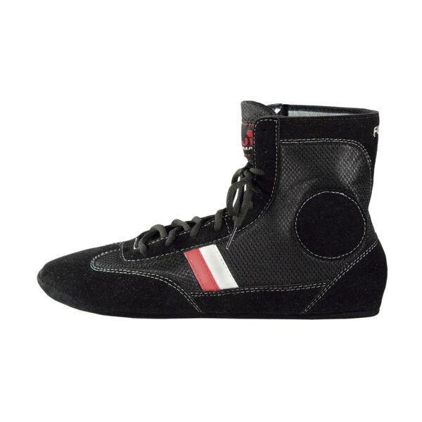 Sambo cipő bársony részekkel