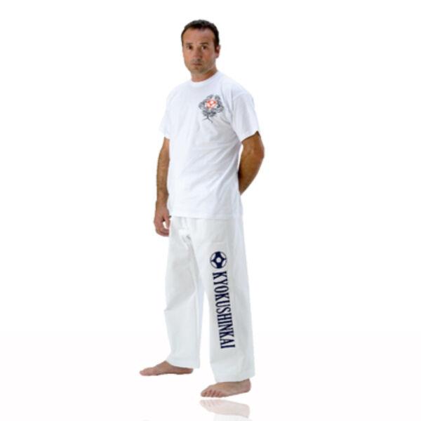 Kyokushinkai nadrág, fehér
