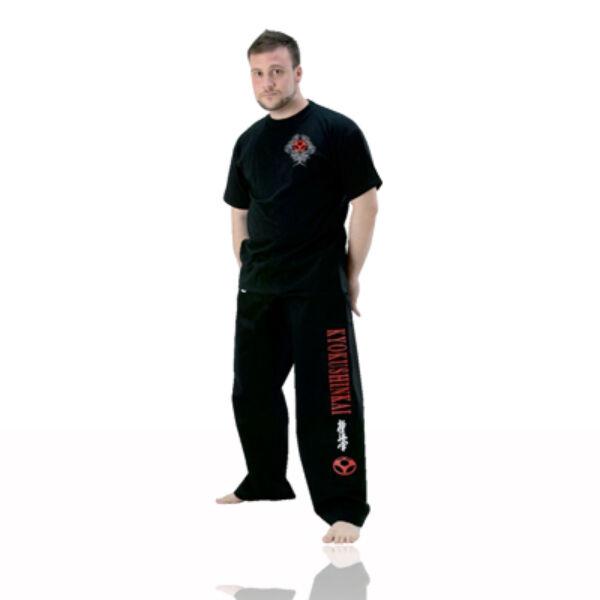 Kyokushinkai nadrág, fekete