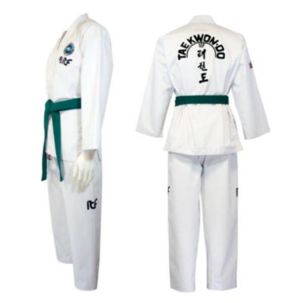 Új logós ITF taekwon-do edzőruha