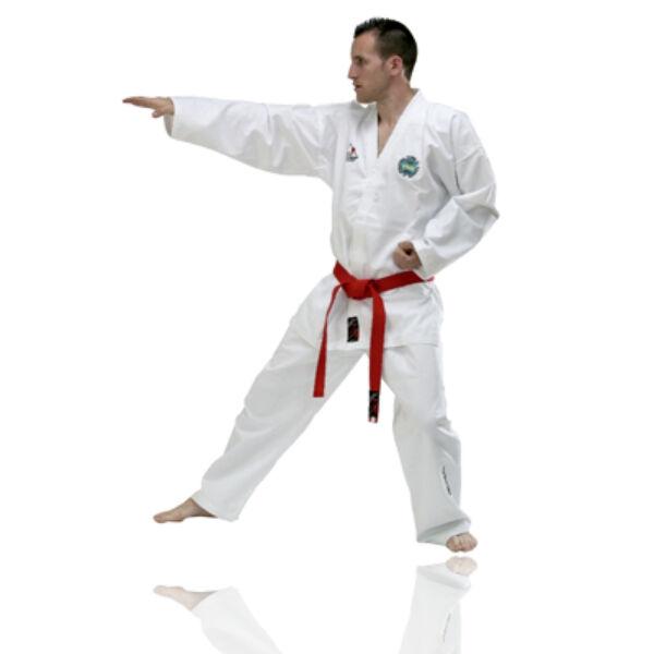 Régi logós ITF taekwon-do versenyruha