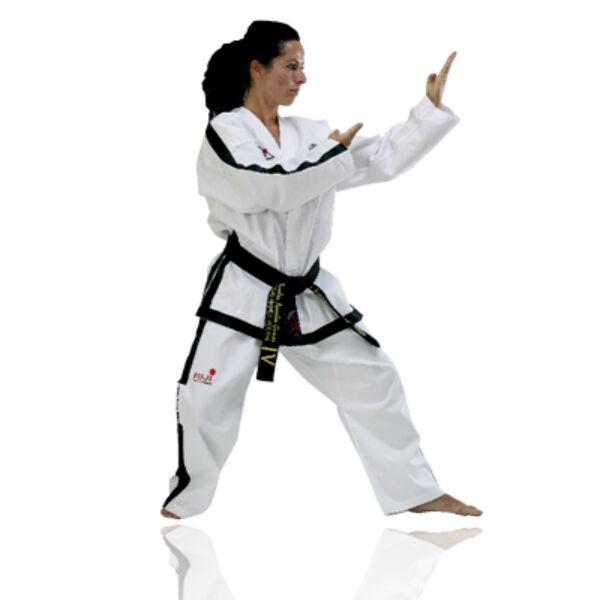 Régi logós ITF taekwon-do instruktor ruha