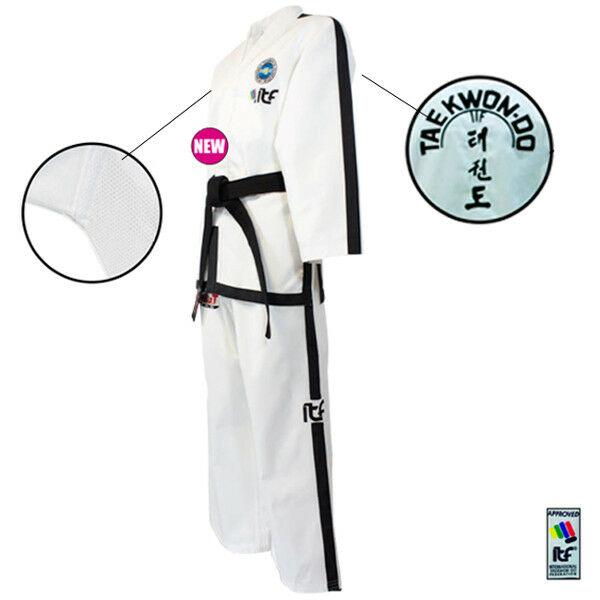 Új logós ITF taekwon-do instruktor ruha