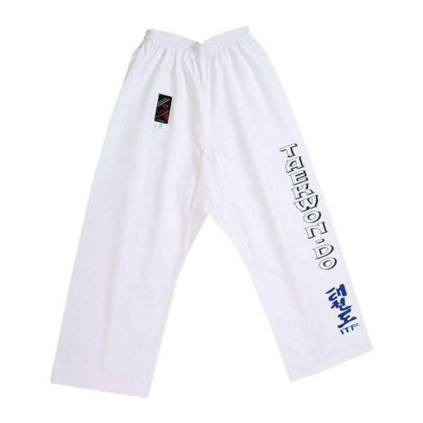 ITF Taekwon-do nadrág, fehér