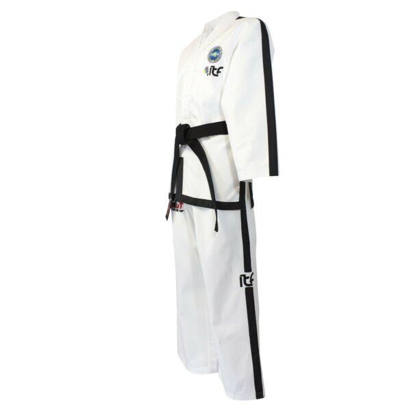 Új logós ITF taekwon-do instruktor ruha, Diamond
