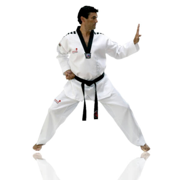 WTF taekwondo mester ruha