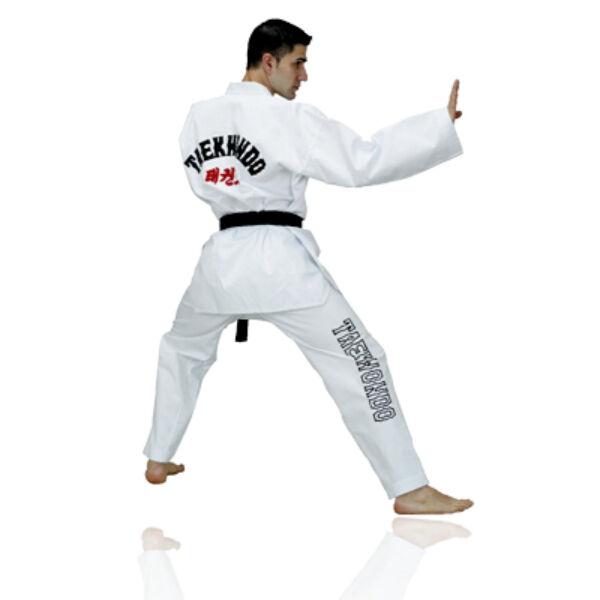 WT taekwondo ruha fehér gallérral