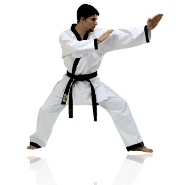 Hapkido edzőruha, fehér