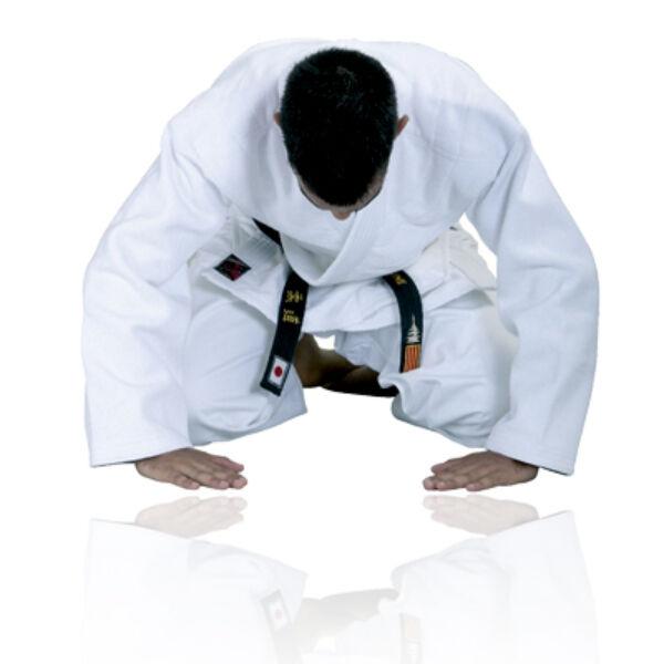 Judo versenyruha, fehér
