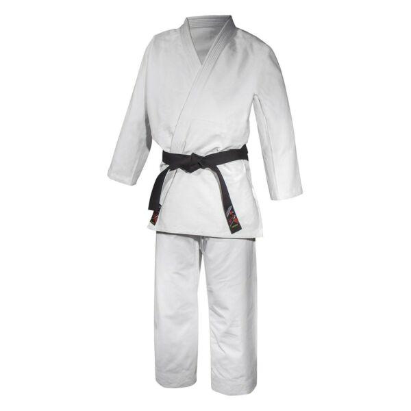 Judo edzőruha rizsszemes, fehér
