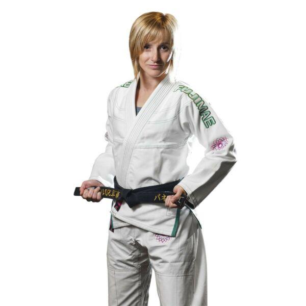 Brasil jiu-jitsu edzőruha, Dahlia női, fehér