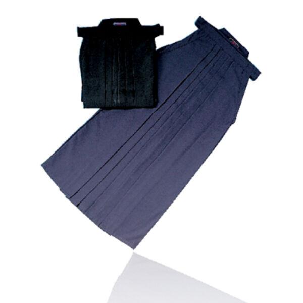 Hakama, japán, kék