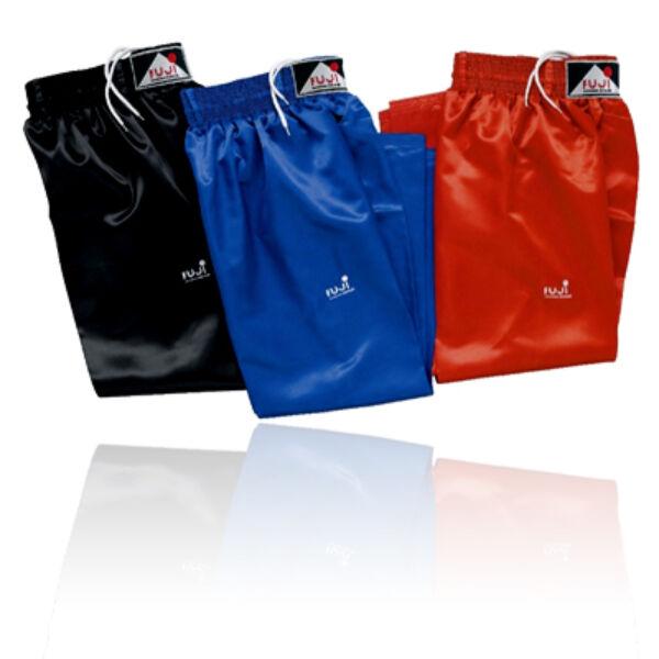 Kick-box nadrág, piros/kék/fekete