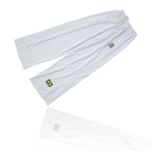 Capoeira nadrág, fehér