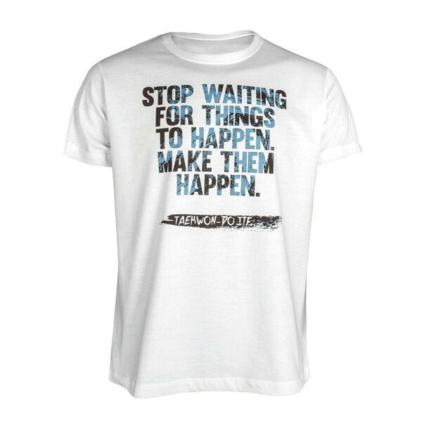 ITF Taekwon-do póló, Make them happen