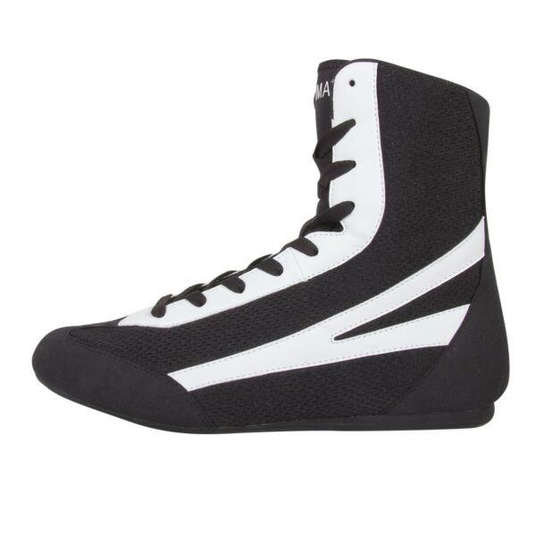 Box cipő, középmagas szárú