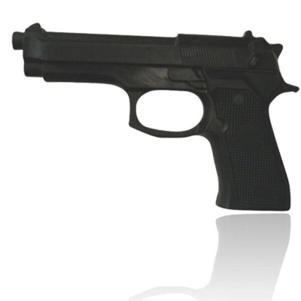 Gumi pisztoly, fekete