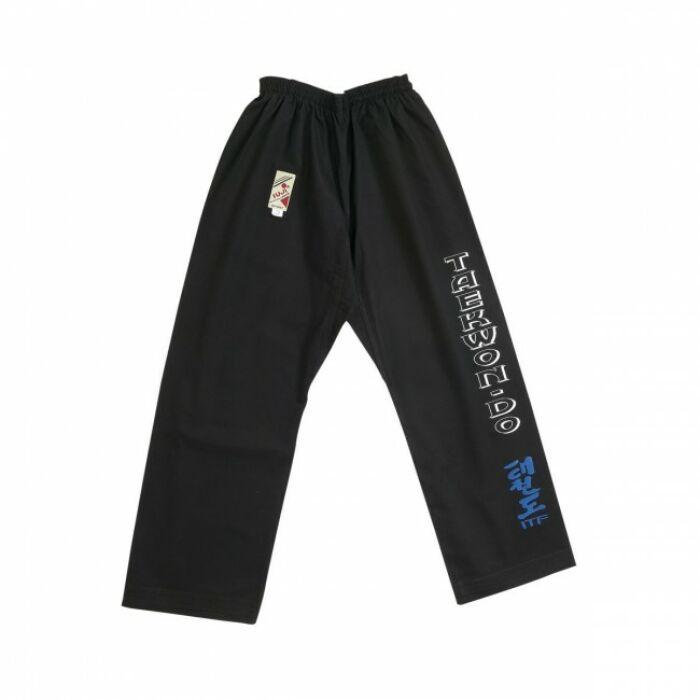 ITF Taekwon-do nadrág, fekete