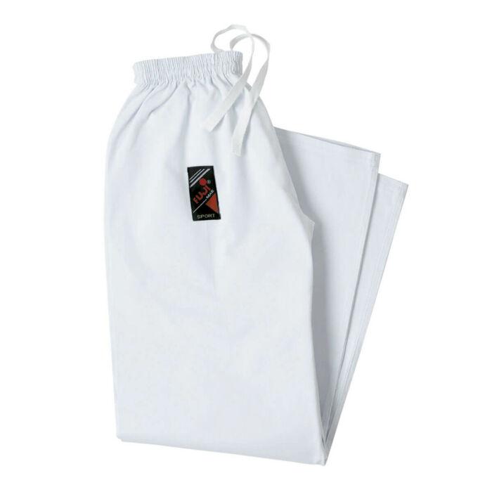 Karate nadrág, fehér