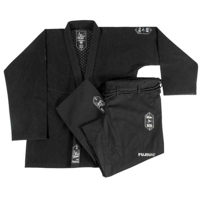 Brasil jiu-jitsu edzőruha, Shaka 2.0 QS, fekete