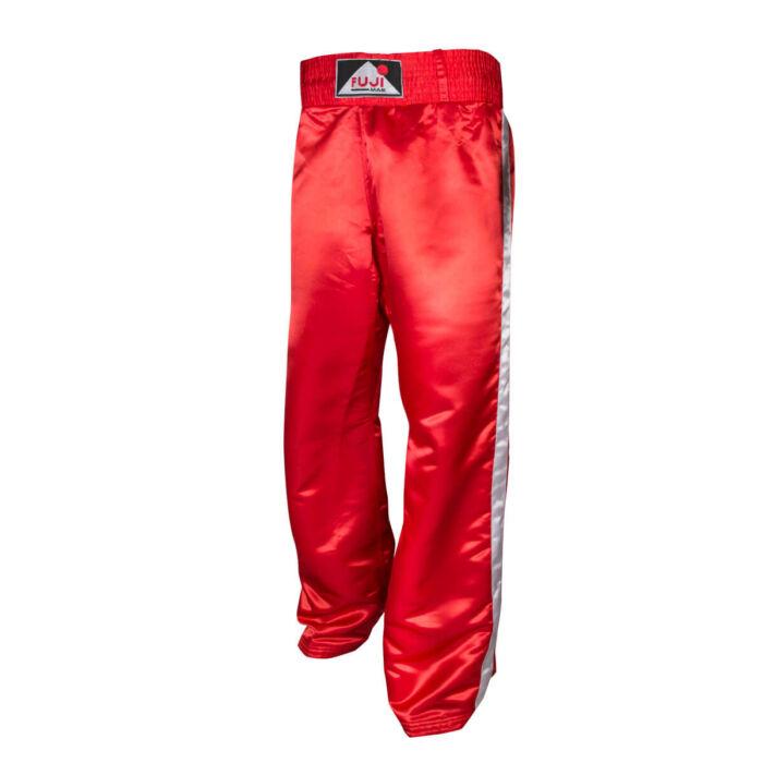 Kick-box hosszú nadrág, oldalcsíkkal, szatén