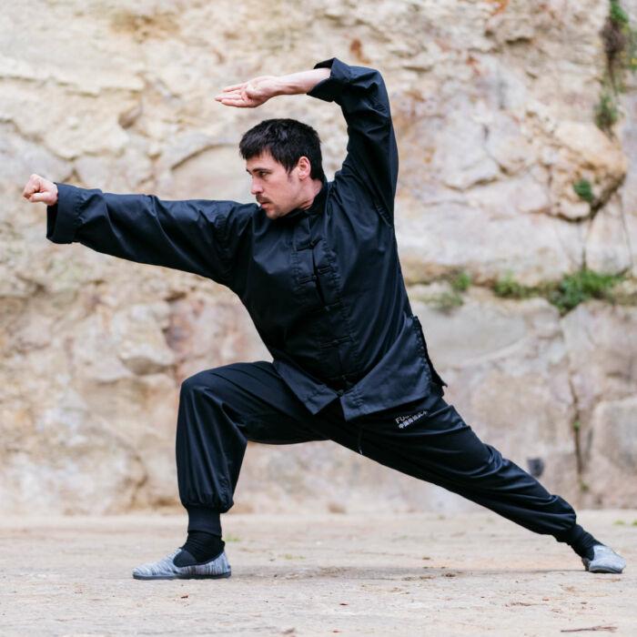 Gyakorló Kung fu ruha