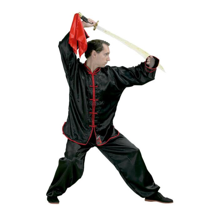 Kung Fu edzőruha, szatén