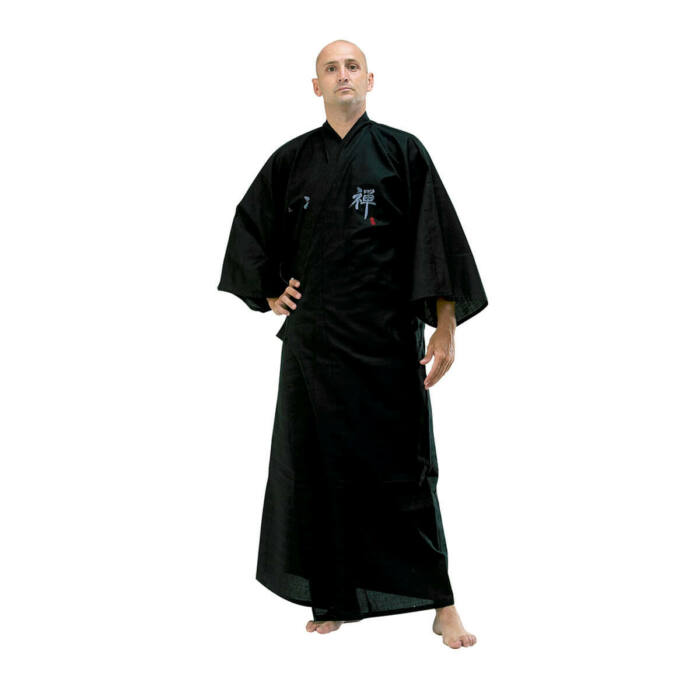 Japán kimonó Zen, Pamut